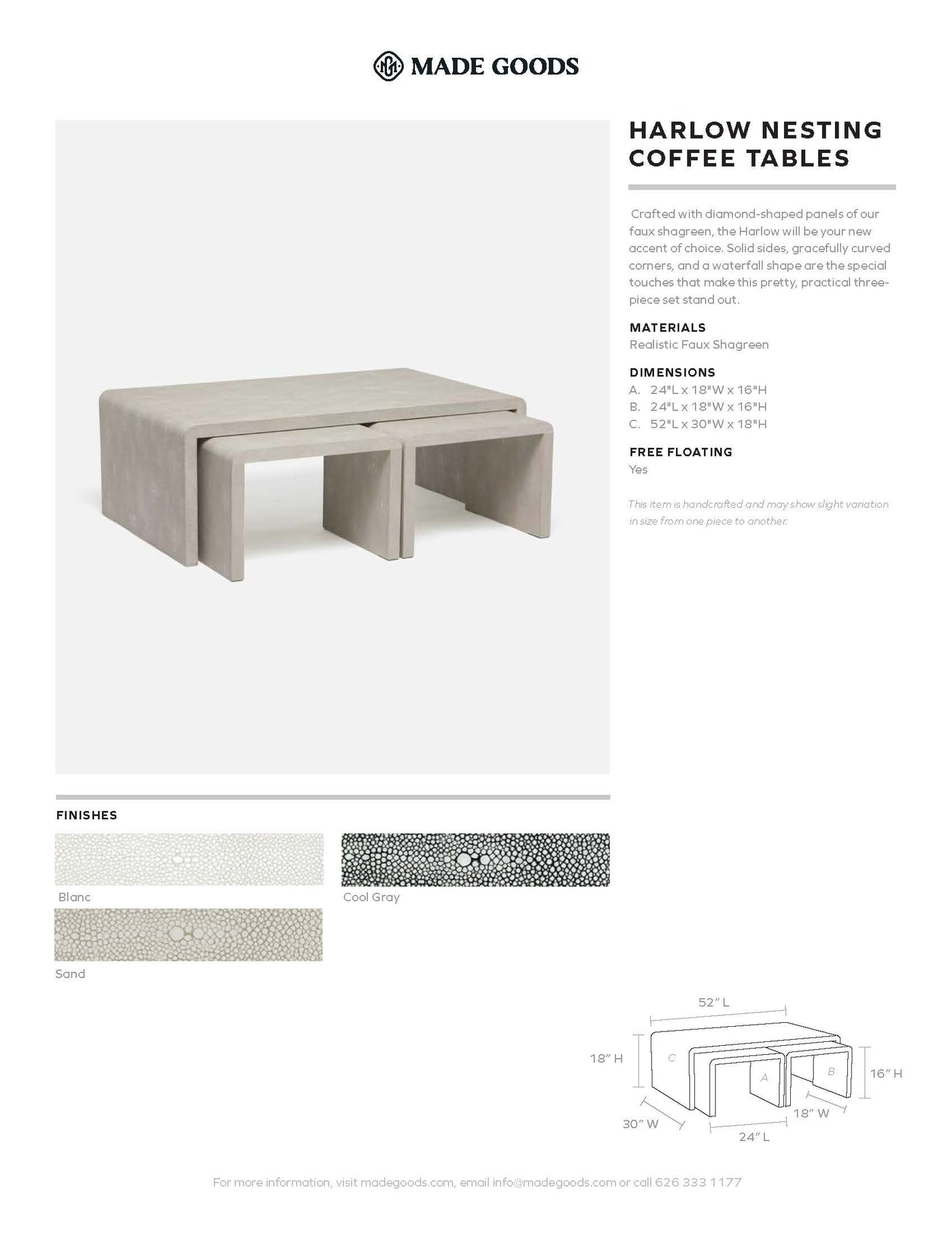 made goods harlow nesting coffee tables tearsheet