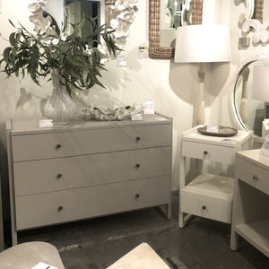 made goods carrigan dresser castor gray drawers shagreen