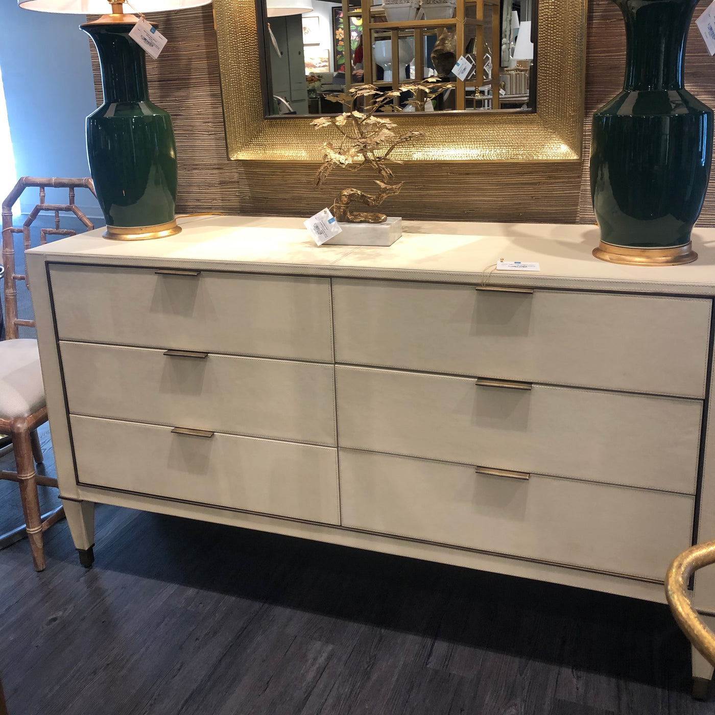 bungalow 5 hunter extra large 6 drawer chest ivory bedroom showroom