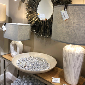 jamie young quarry table lamp showroom