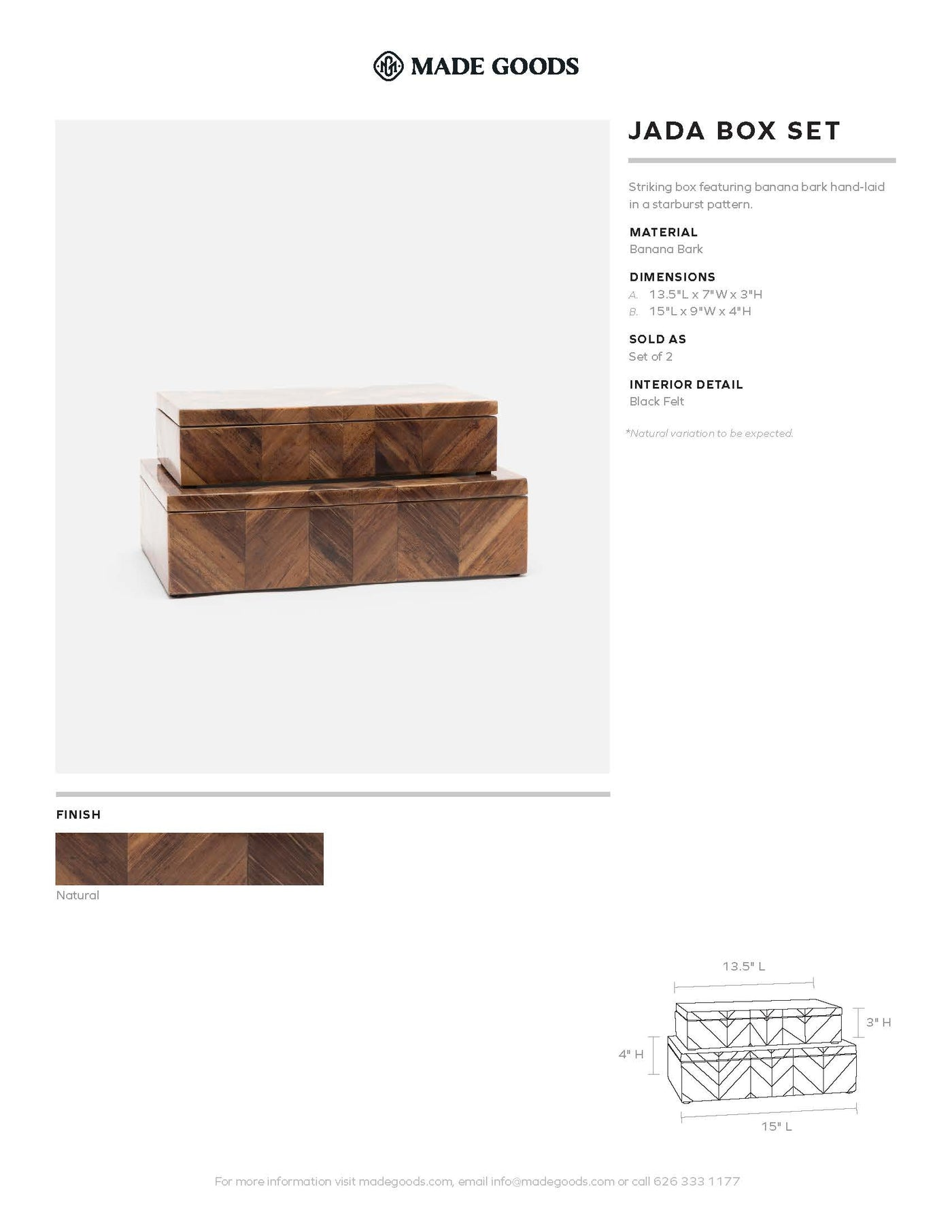 made goods jada box set tearsheet