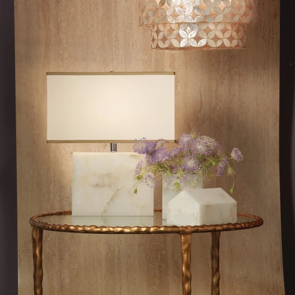 Jamie Young Borealis Alabaster Table Lamp Ideas