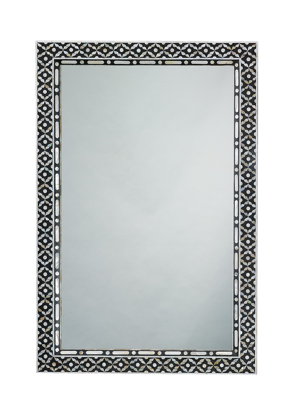 Jamie Young Evelyn Rectangle Mirror Mother Of Pearl