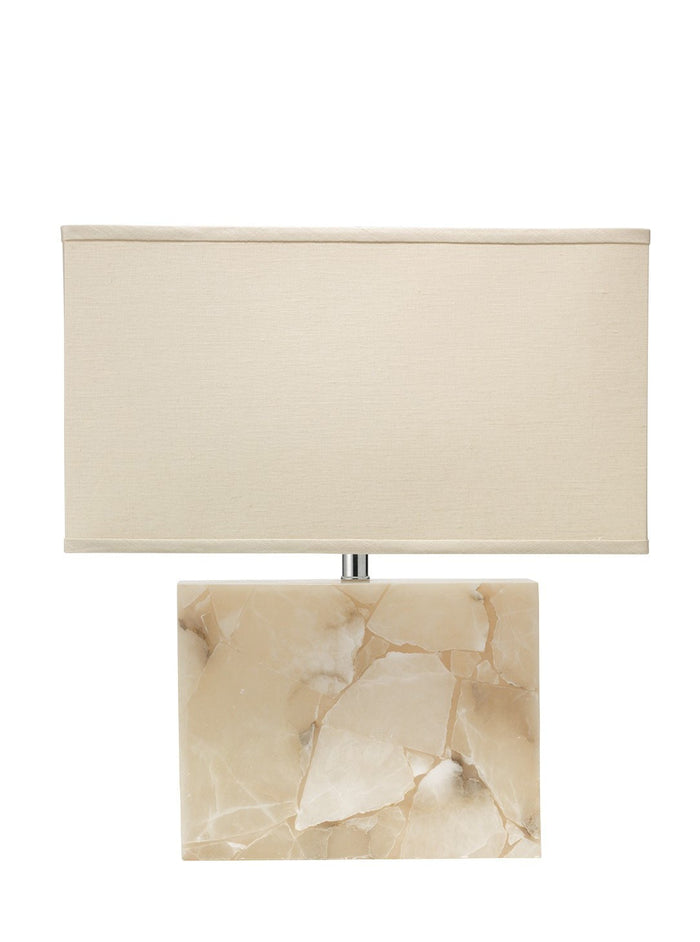 Jamie Young borealis alabaster table lamp
