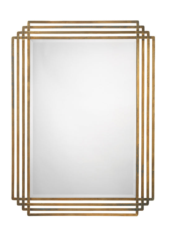 Jamie Young Serai Mirror Brass 11505