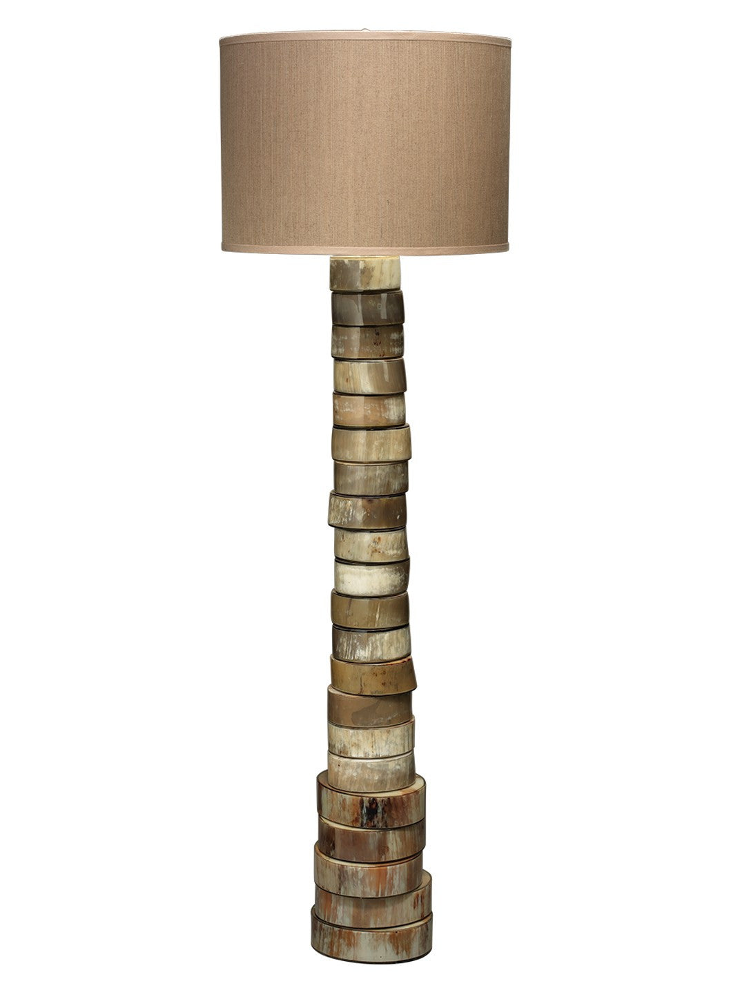 Jamie Young stacked horn floor lamp 1-1309
