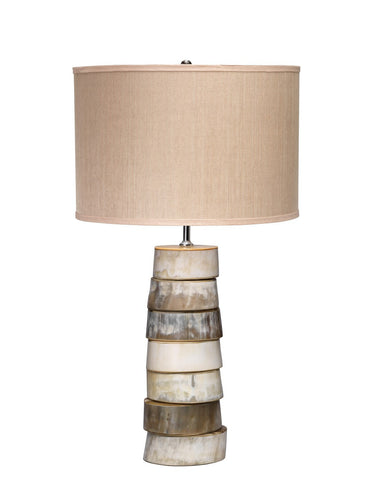 Jamie Young stacked horn table lamp 1310