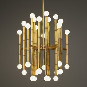 jonathan adler meurice chandelier brass antique lighting