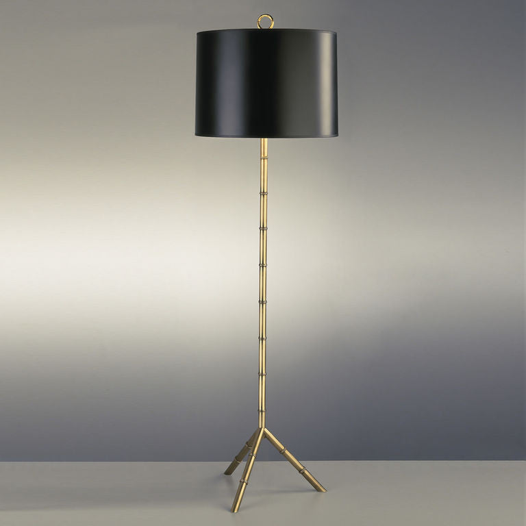 Meurice Floor Lamp Antique Brass