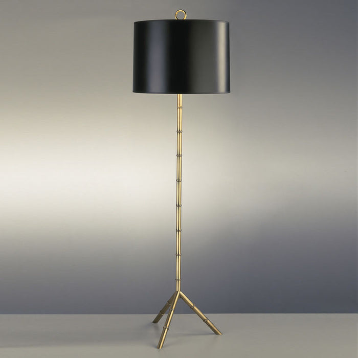 jonathan adler meurice floor lamp antique brass lighting
