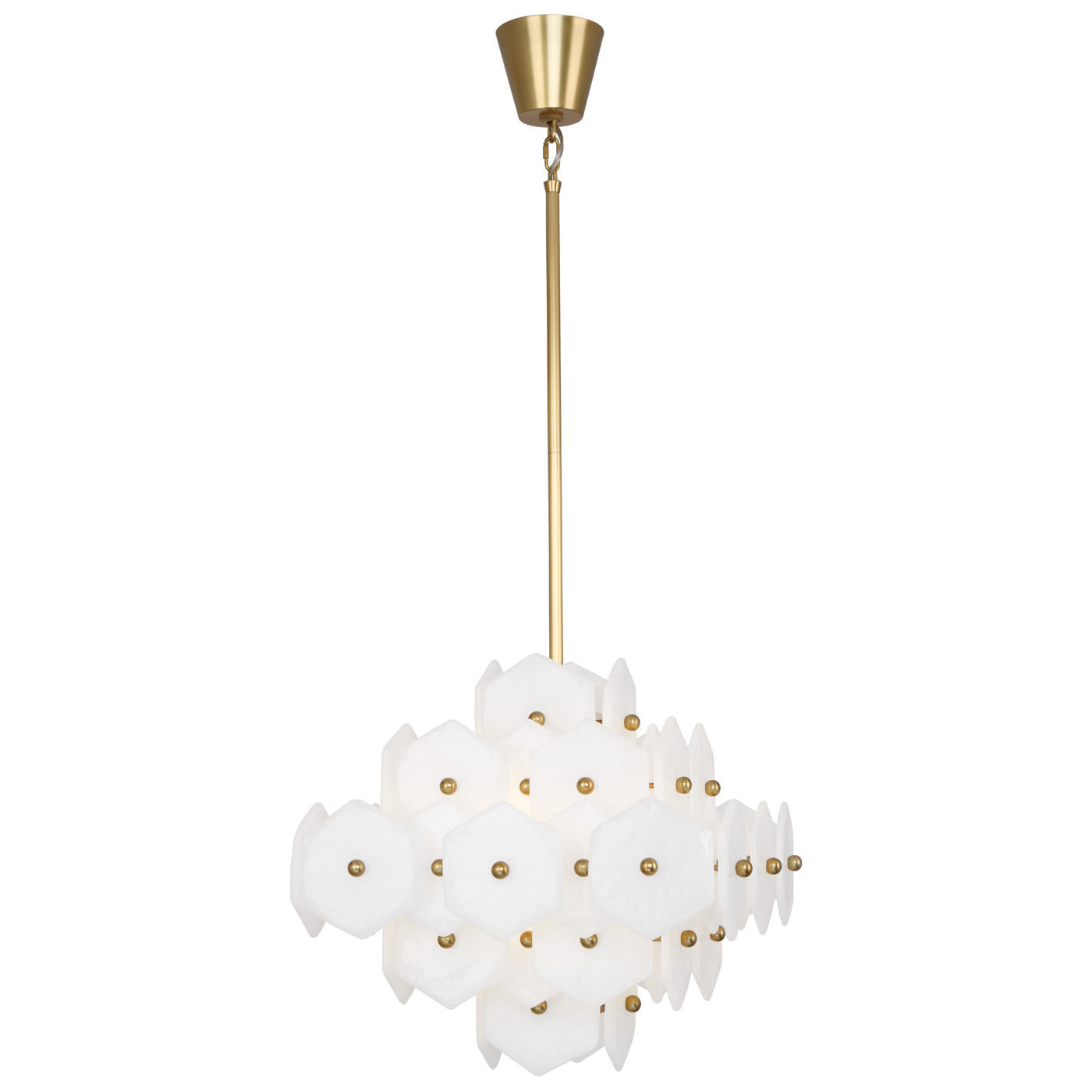 jonathan adler vienna small chandelier lighting brass
