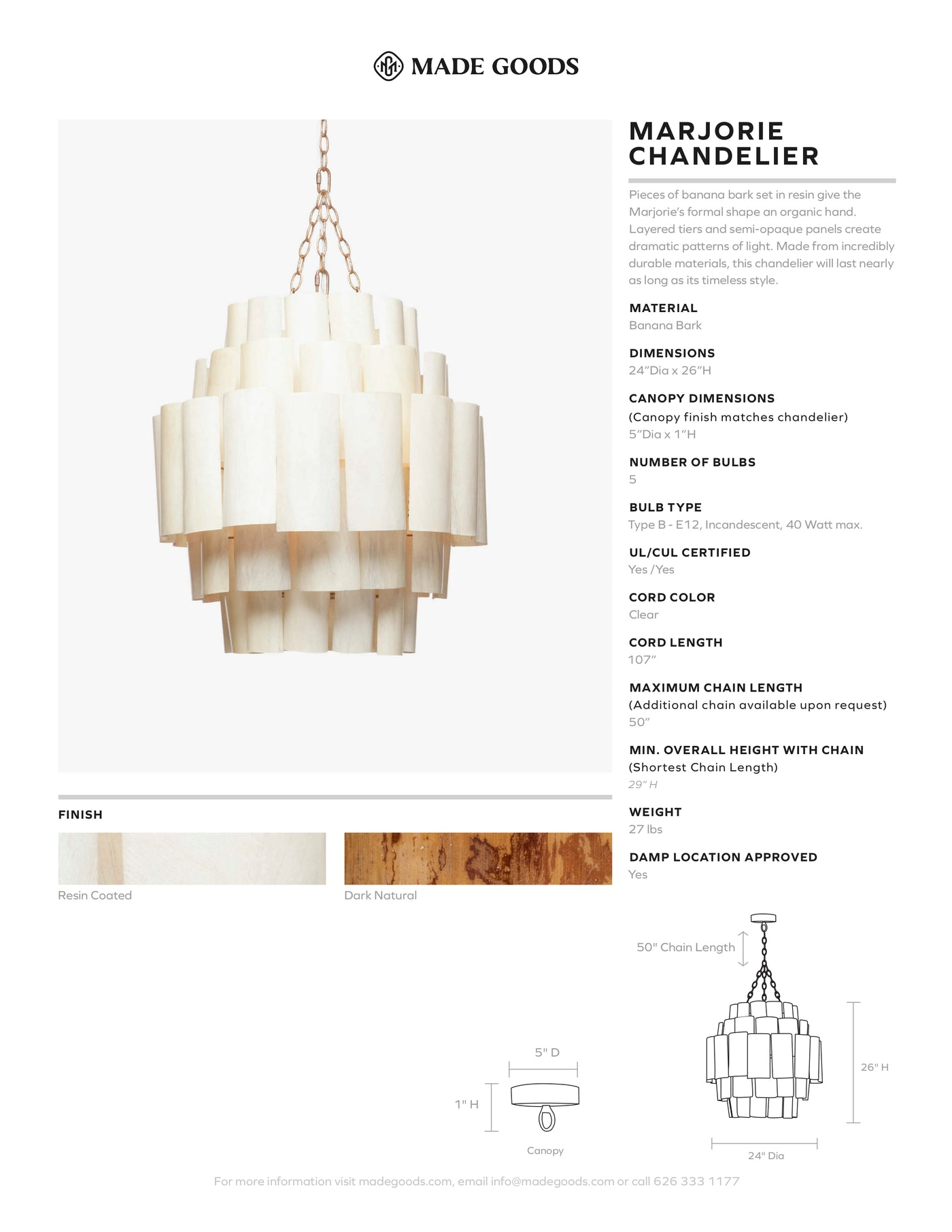 made goods marjorie chandelier mount tear sheet