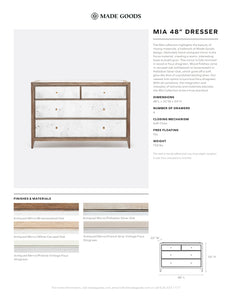 Made Goods Mia 48 Inch Dresser Tear Sheet