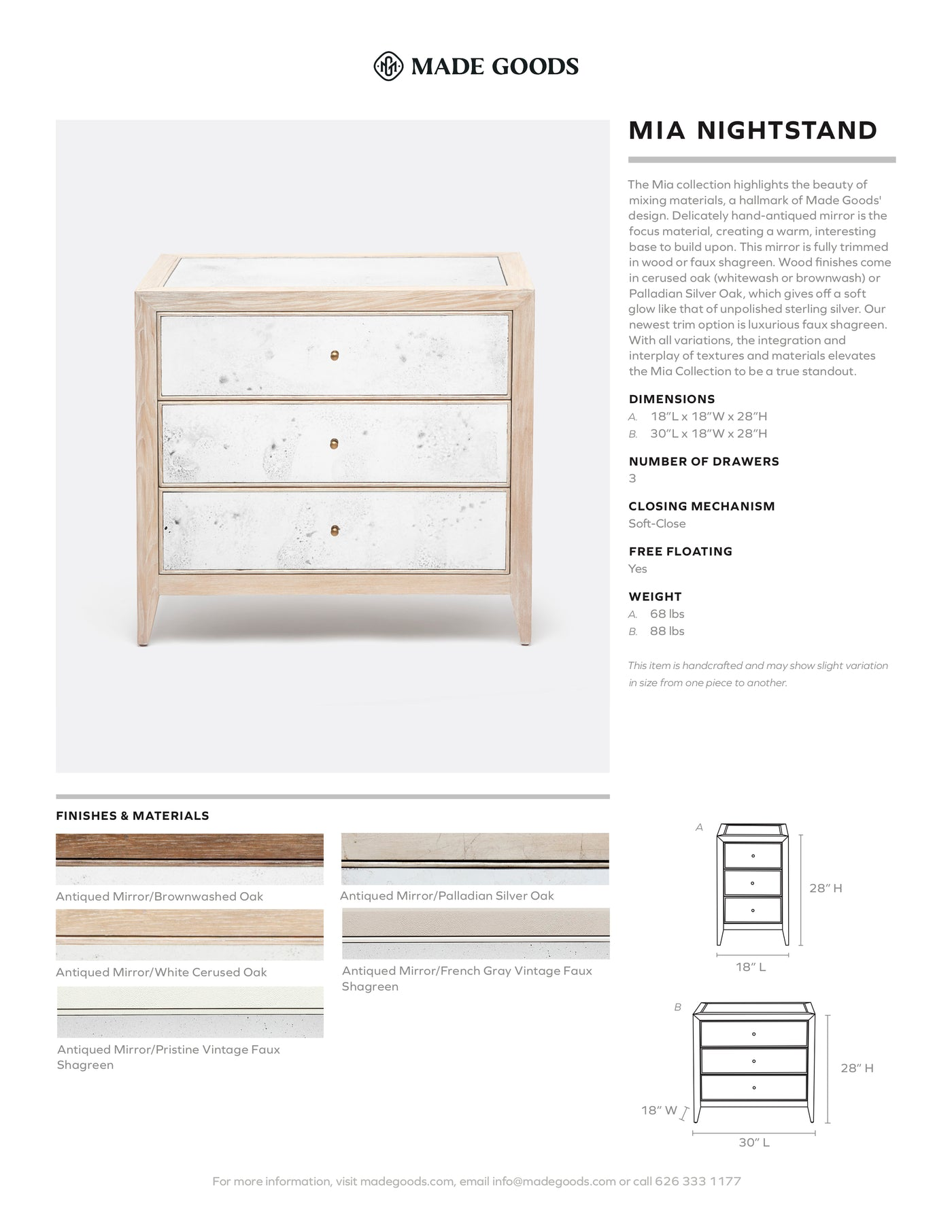 Made Goods Mia Double Nightstand Tearsheet