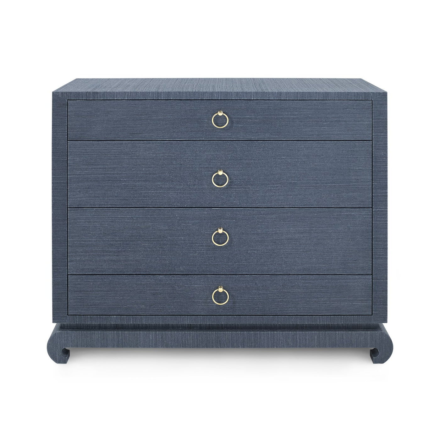 bungalow 5 ming 4 drawer chest nightstand blue navy