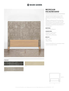 made goods morgan headboard tearsheet