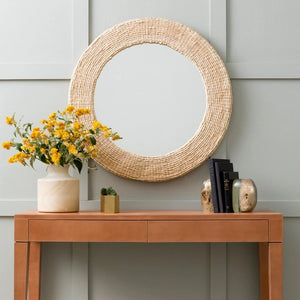 Made Goods Amani Wall Mirror Round