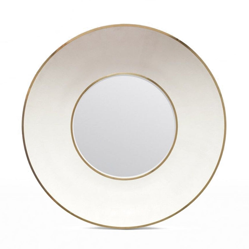 Made Goods Armond Wall Mirror Brass small