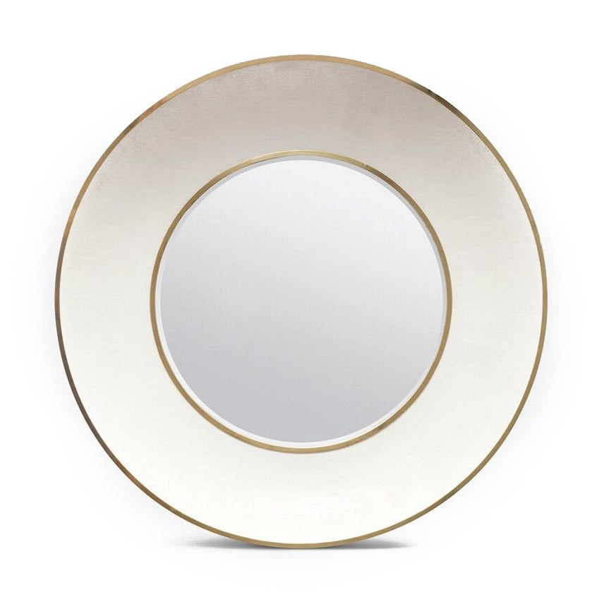 Made Goods Armond Wall Mirror Brass large