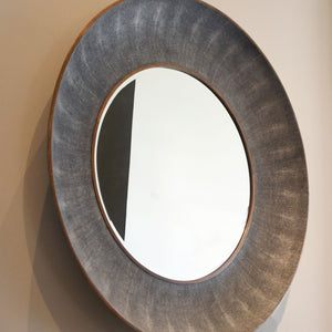 Made Goods Armond Mirror Cool Gray display