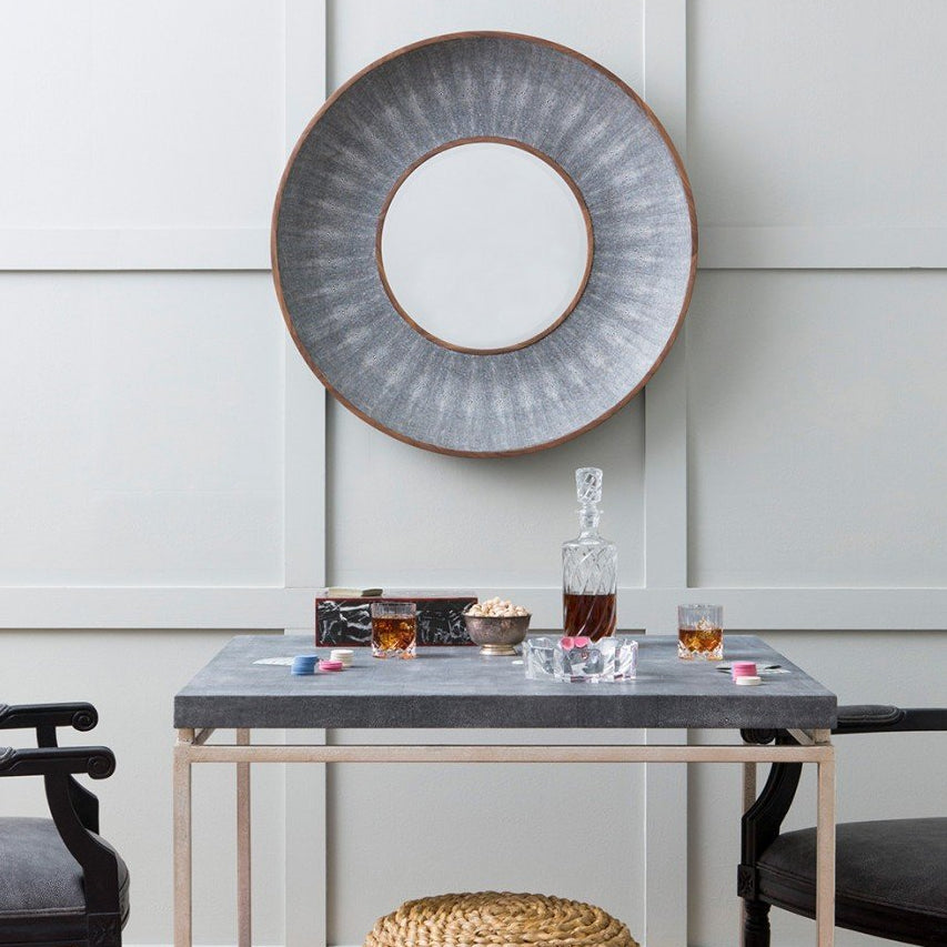 Made Goods Armond Mirror Cool Gray Clayton Gray Home