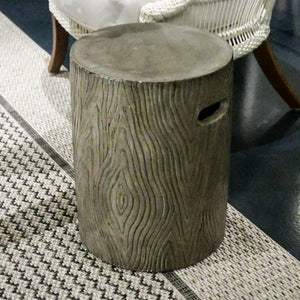 made goods bernt stool charcoal grey showroom