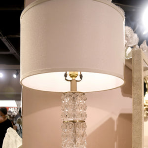 made goods beroe table lamp glass tall gold bubble showroom