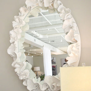 made goods coco mirror white silver showroom