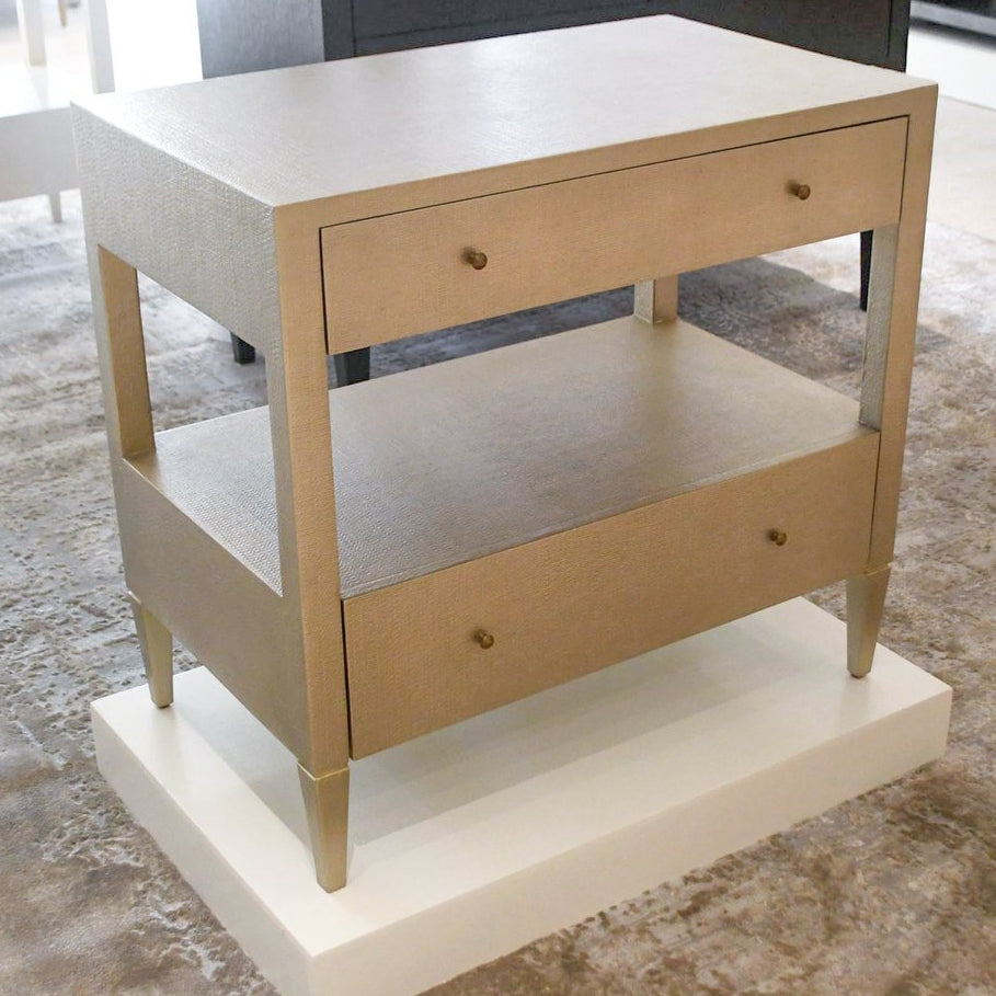 made goods conrad double nightstand champagne showroom