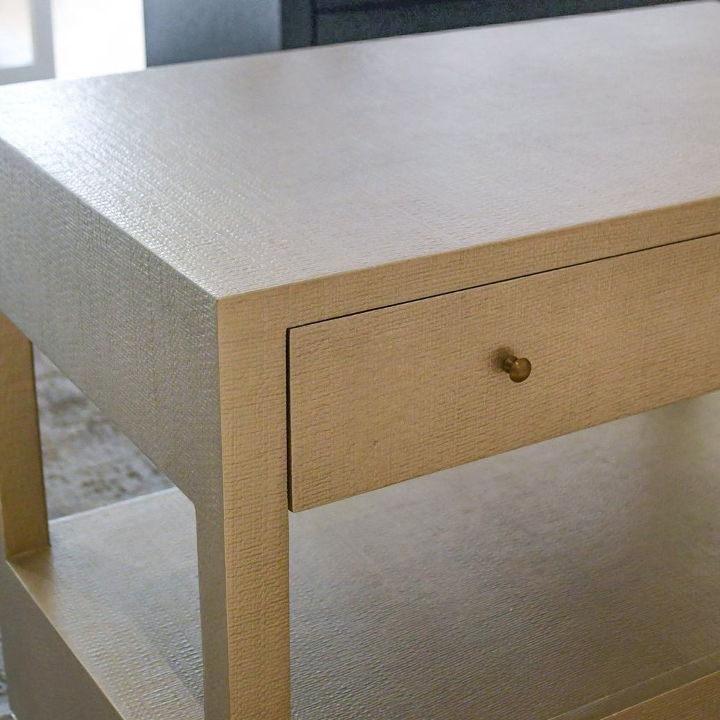 made goods conrad double nightstand champagne detail
