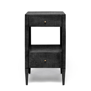 Made Goods Conrad Single Nightstand Black