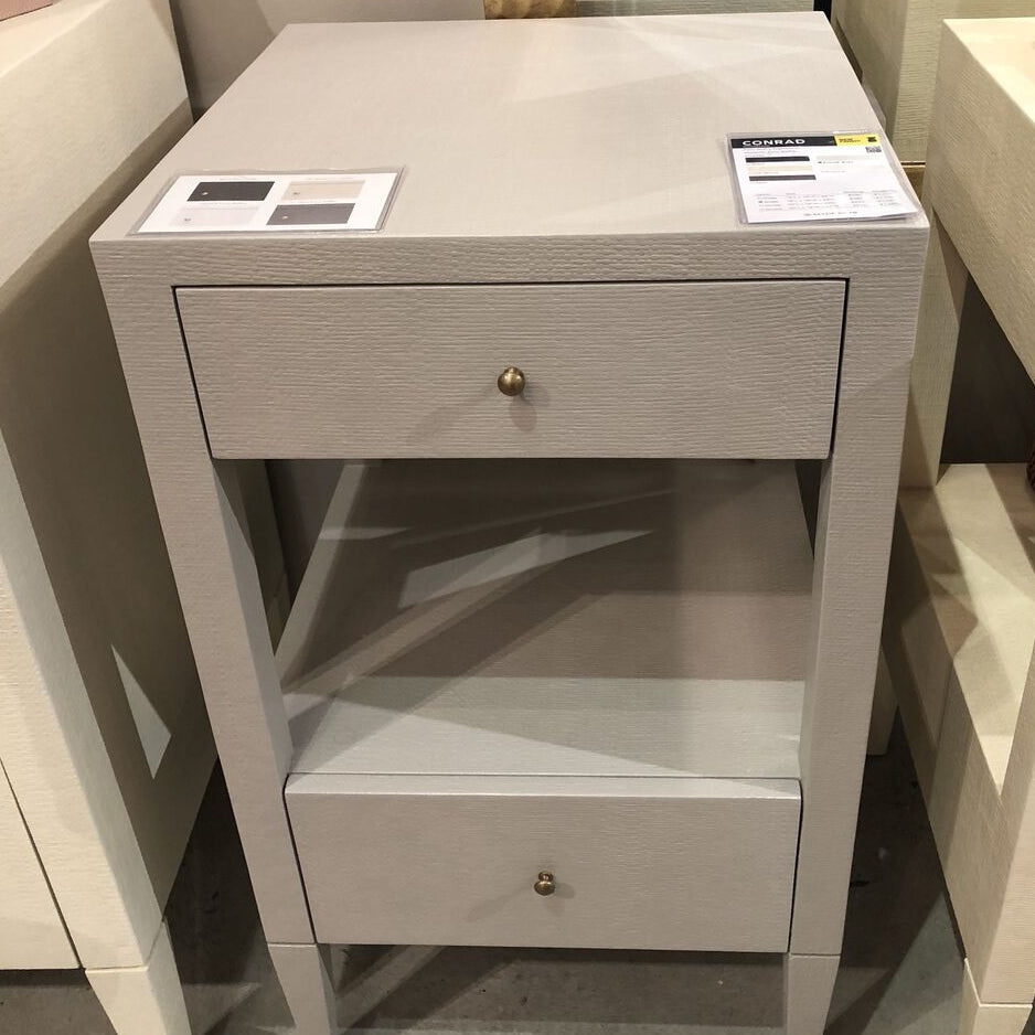 made goods conrad single nightstand french grey