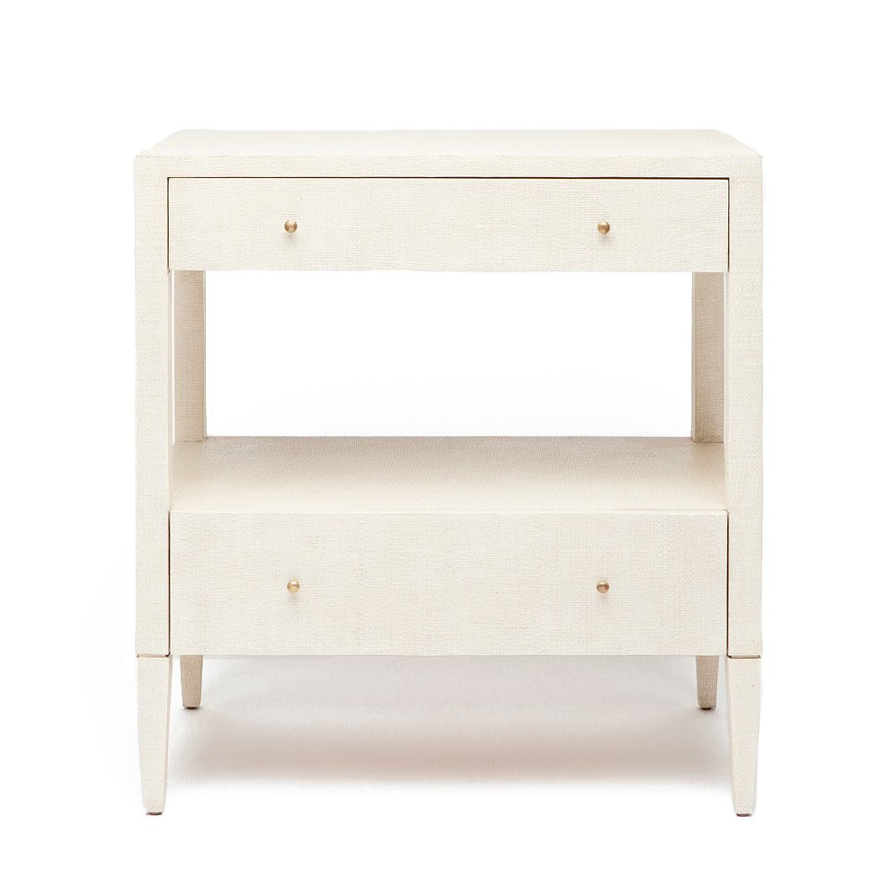Made Goods Conrad nightstand off white