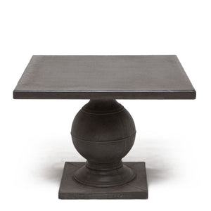Made Goods Cyril Square Dining Table Aged Gray