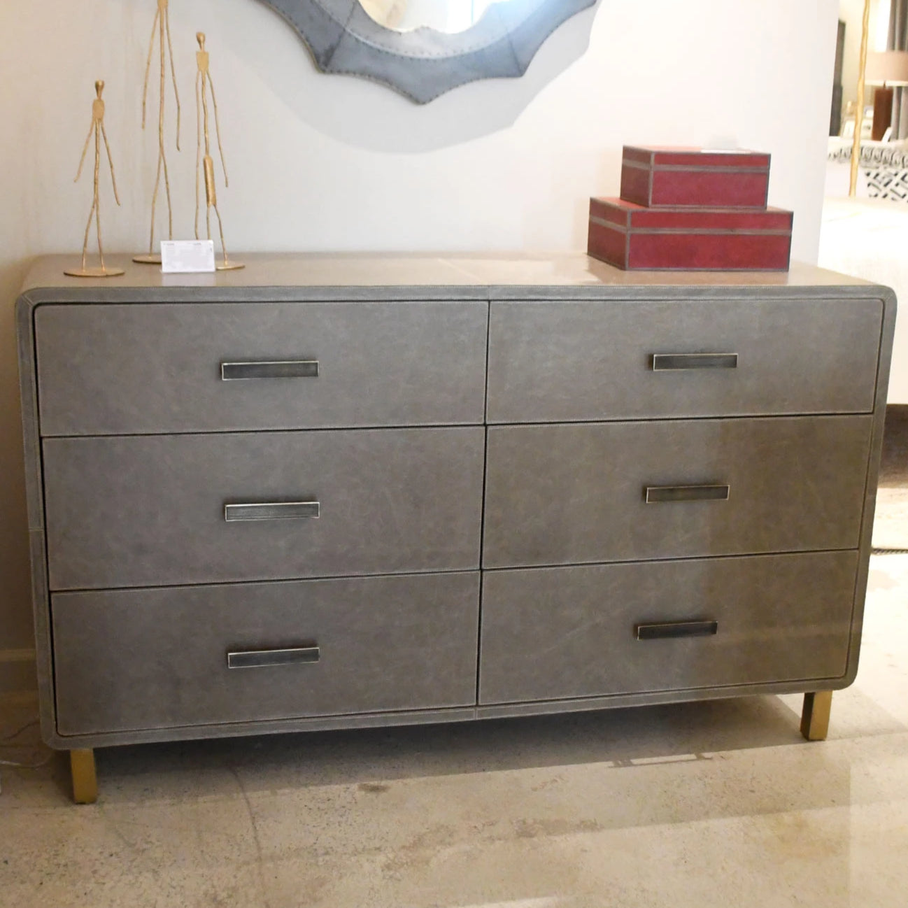 made goods Dante dresser bedroom storage drawers storm gray