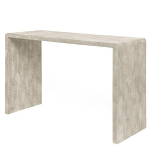 "Made Goods Harlow 48"" Waterfall Console Sand"