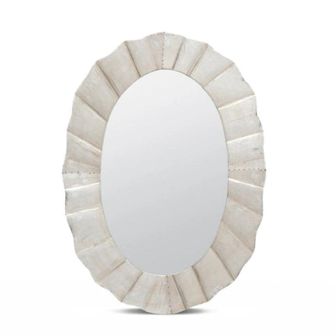 made goods lara oval mirror