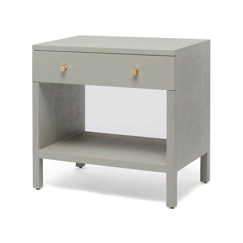 made goods maris double nightstand light grey
