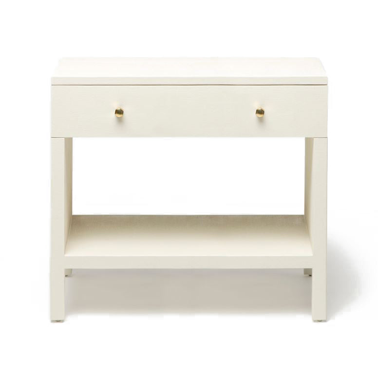 made goods maris double nightstand white faux belgian linen