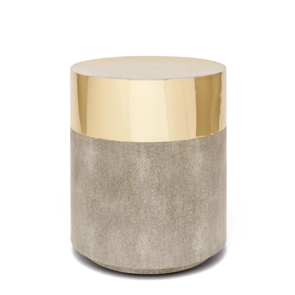 Made Goods Maxine Stool Brass and Sand