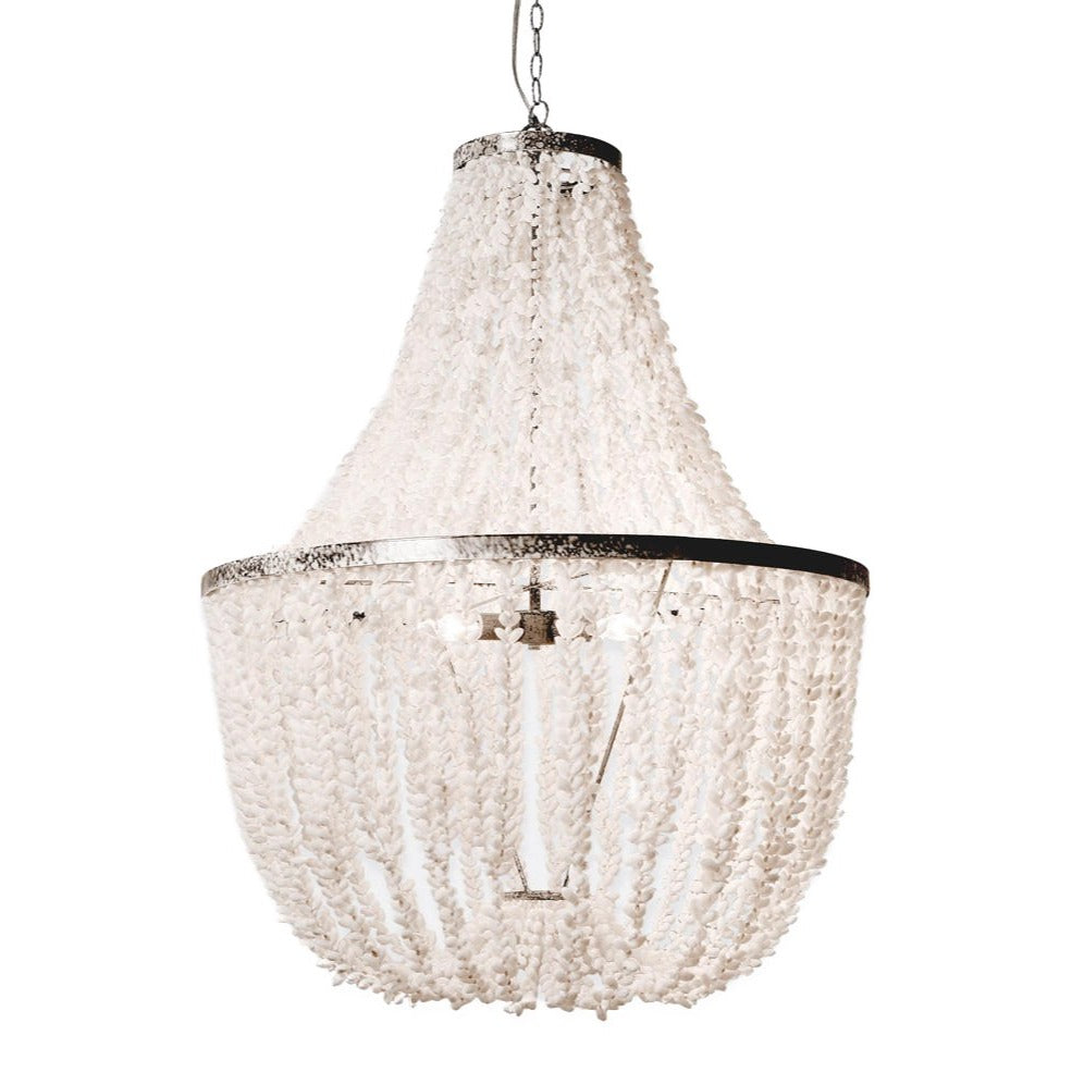 Made Goods Silvana Chandelier Silver