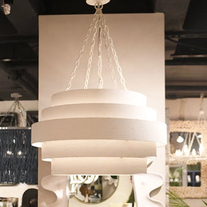 Made Goods Thyra Chandelier White Lifestyle