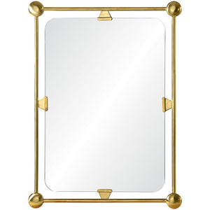 Mirror Image Home Burnished Brass Mirror CK1112