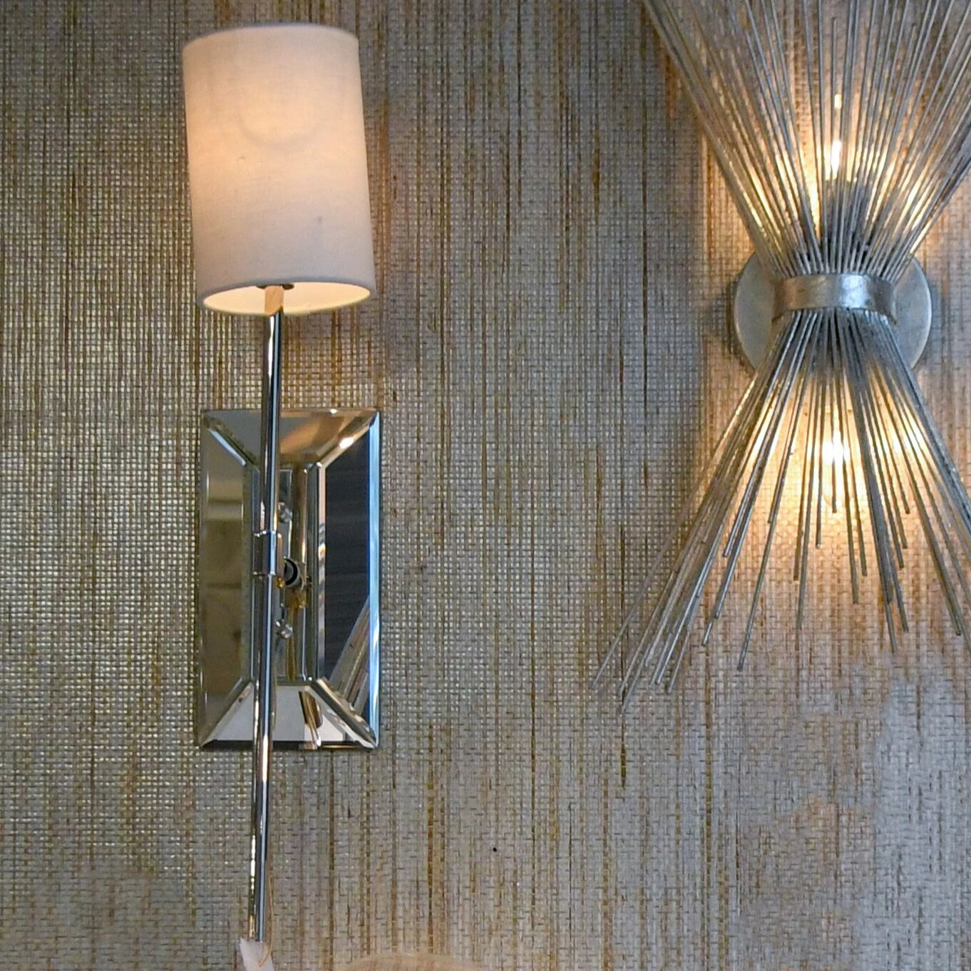 worlds away virginia wall sconce nickel