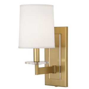 Robert Abbey Alice Single Sconce Antique Brass 3381