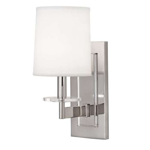 Robert Abbey Alice Single Sconce Polished Nickel S3381