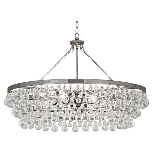 Robert Abbey Bling Chandelier Polished Nickel S1004