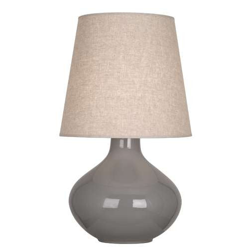 Robert Abbey June Table Lamp Smokey Taupe ST991