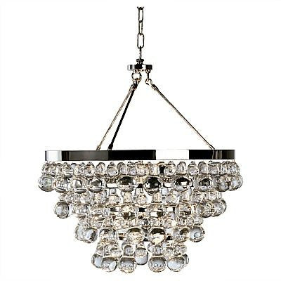 Robert Abbey Bling Chandelier Polished Nickel S100