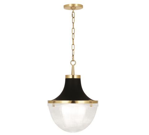 Robert Abbey Brighton Chandelier Brass Gold Lighting Hanging